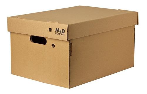 Imagen 1 de 1 de Caja Archivo Cartón  Nº403 C/tapa Reforzada 42x32x25