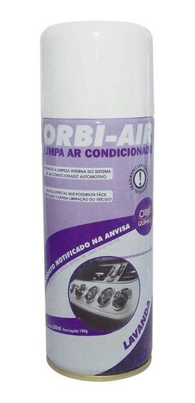 Spray Limpa Ar Condicionado Automotivo Lavanda 200ml-orbi-59