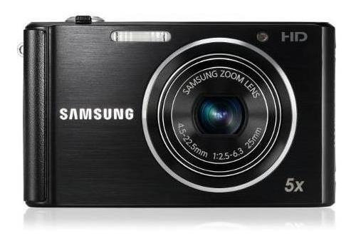 Câmera Samsung St61 Preta C/ 12mp + 4gb