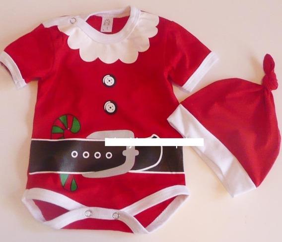 Disfraz Bebe Papa Noel Navidad Body Gorrito Verano Book Foto