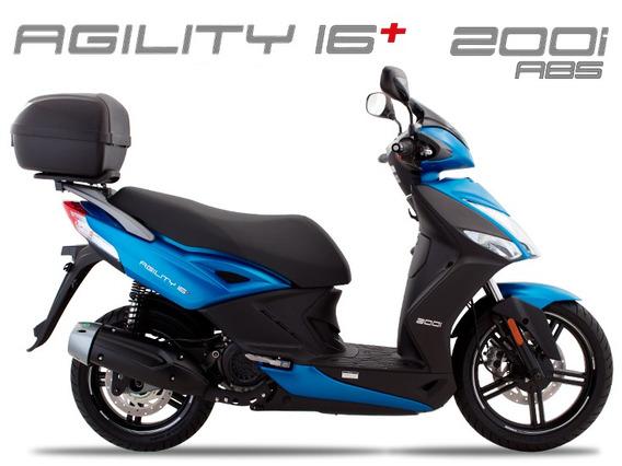Kymco Agility 200 Abs 0km 2019/2020 Azul