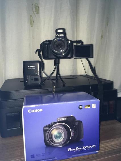 Câmera Semi Profissional Canon Sx50