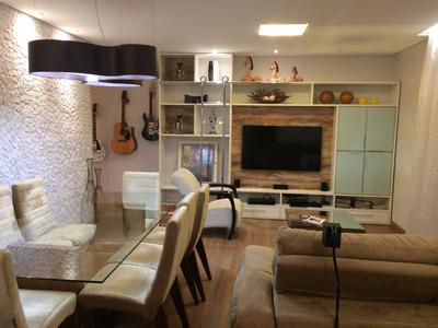 Apartamento Próximo Da Praia Com 3 Quartos E Suíte Em Santos
