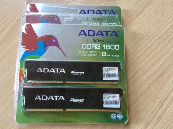Memória Adata Gaming Ddr3 1600mhz 4 X 4gb Frete Grátis