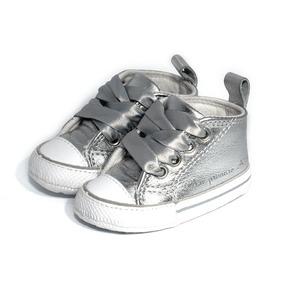 Tênis My First All Star Laces Prateado - Converse