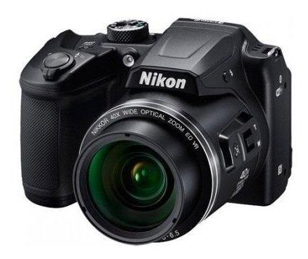 Câmera Nikon Coolpix B500 16mp/40x/wifi Preto