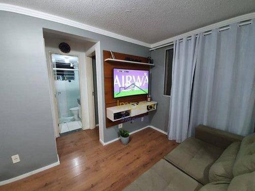 Apartamento Spazio Campo Di Giallo Com 2 Dormitórios À Venda, 46 M² Por R$ 195.000 - Vila Tesouro - São José Dos Campos/sp - Ap0593