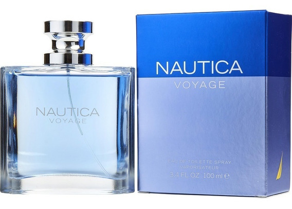 Perfume Nautica Voyage Edt Masculino 100ml Original Lacrado