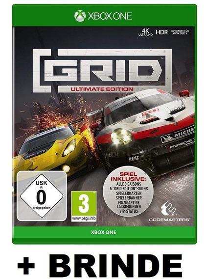 Grid Ultimate Edition Xbox One Mídia Digital + Brinde