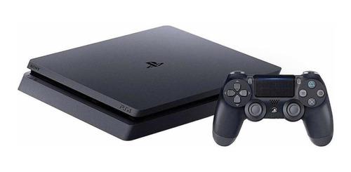 Sony PlayStation 4 Slim 1TB Mega Pack: Grand Theft Auto V Premium Edition/Days Gone/Horizon Zero Dawn Complete Edition/Fortnite color  jet black