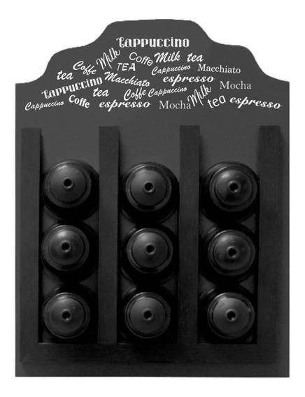 Quadro Porta-cápsula Dolce Gusto Todos Os Cafés 23x31,5x8c
