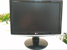 Monitor De Computador Lg Flatron Tela De Lcd 17