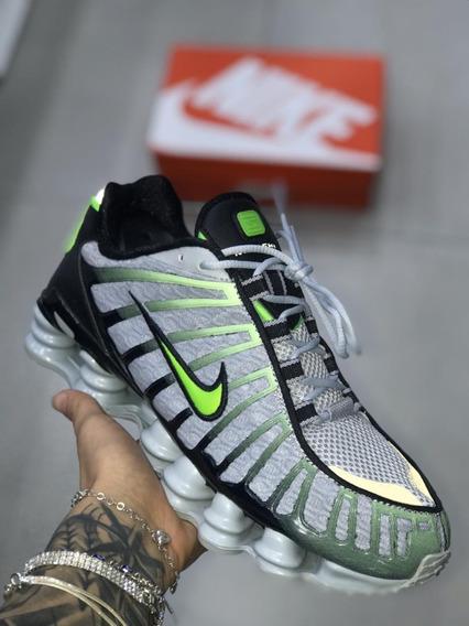 Pisante Masculino Nike Shox 12 Molas Original 2019 Promoção