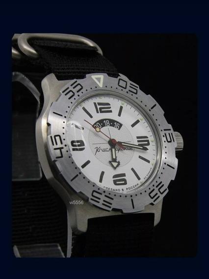 Reloj Vostok Komandirskie K-35 Diver 100mts Automatico Nuevo