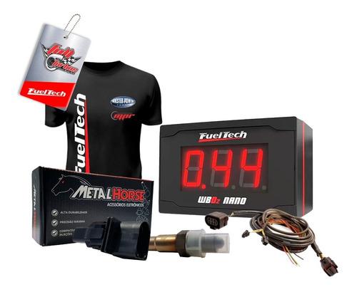 Fueltech Wideband Nano + Sonda Metal Horse + Chicote 4,5m