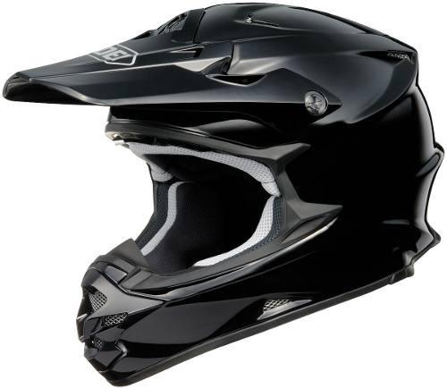 Casco Motocross Enduro Shoei Vfx-w Negro Importado