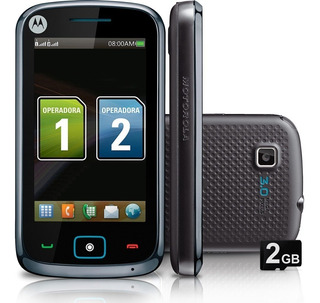 Celular Motorola Screen Dual Sim Movistar Touch Garantia