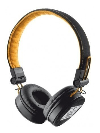 Headset Fone Com Microfone Trust Urban Dobrável Para Celular