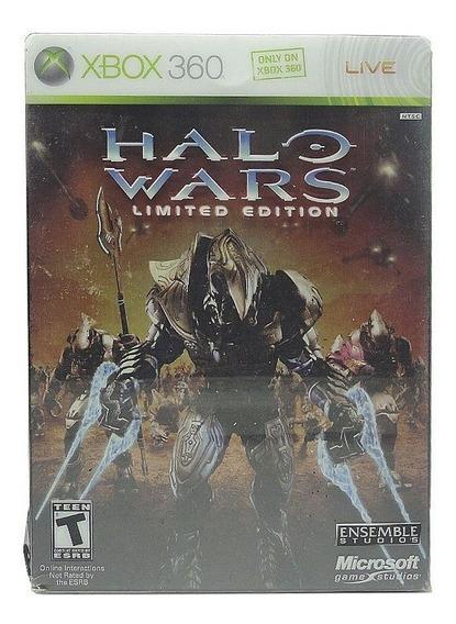 Halo Wars Limited Edition Xbox 360 Mídia Física