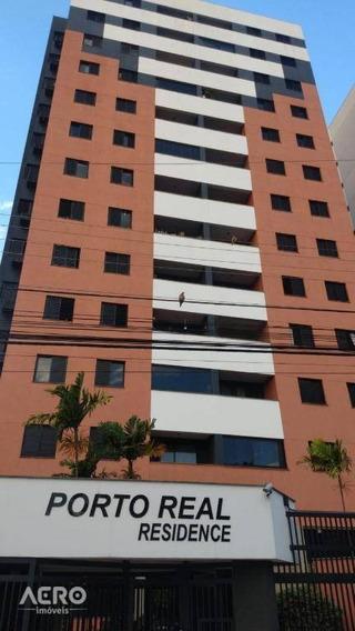 Apartamento Com 3 Dormitórios Para Alugar, 90 M² Por R$ 1.300/mês - Vila Nova Cidade Universitária - Bauru/sp - Ap1473