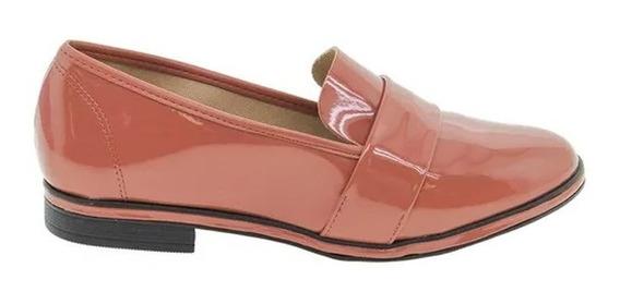 Zapatos Beira Rio Vizzano Mocasines Charol 4207101 Rimini