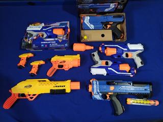 Pistolas Nerf Originales Gran Lote Remató!!! 30/05/20