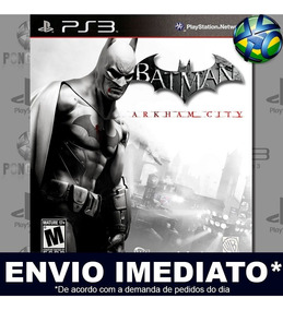 Jogo Batman Arkham City Ps3 Legendas Pt Br Promoção Psn