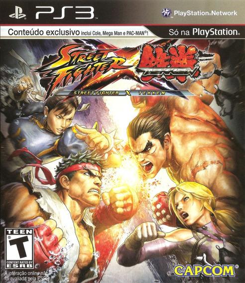 Street Fighter X Tekken - Ps3 - Usado