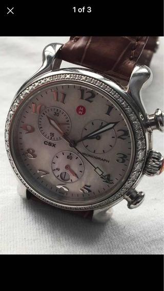 Relógio Michelle De Diamantes Com Mais De 1 Kilate