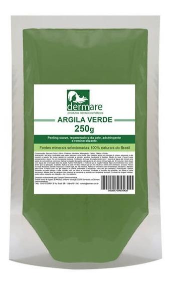 Argila Verde 250g - Dermare Cosméticos