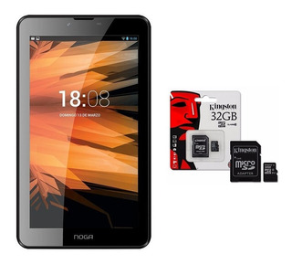 Tablet Celular 3g Nogapad 7 Quad Core 8gb + Microsd 32gb 6pa