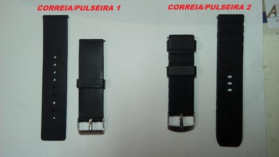 Kit 2 Pulseira Para Relógios + 2 Baterias