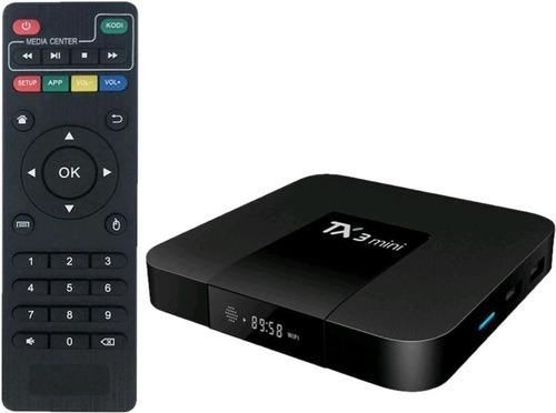 Tv Box Tx3 Mini 1gb 16gb Smart Tv Android 8.1 Control