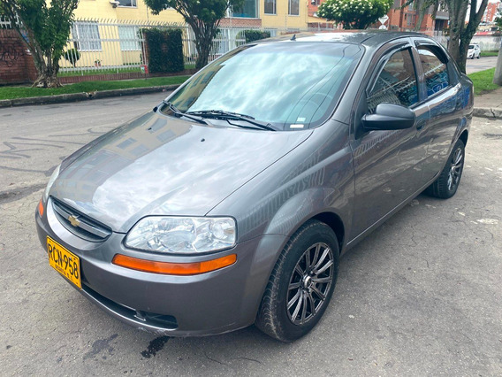 Chevrolet Aveo Family Mt1500cc Gris Ocaso Sa Dh Rines