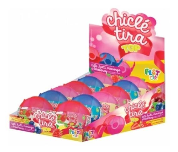 Chicle Tira Top C/12 Un