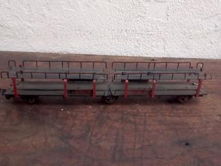 Vagon De Tren Fleischmann H O Porta Vehiculos