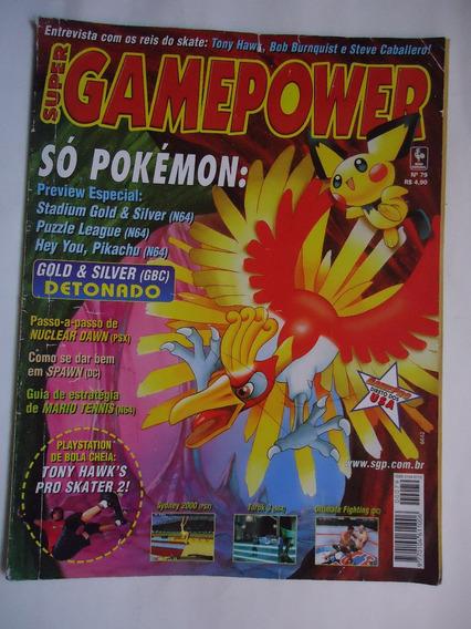 Super Gamepower Nº 79 - Nuclear Dawn, Pokemon Gold Silver