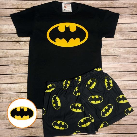 Pijama De Verano Batman - Store Mykonos