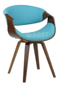 Cadeira Grife De Luxo Base Madeira Nicole 12x S/ Juros