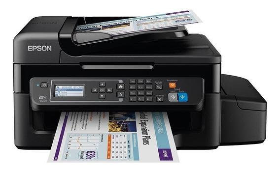 Impressora Multifuncional Epson L575 Tanque De Tinta, Wi-fi, Bivolt A10629