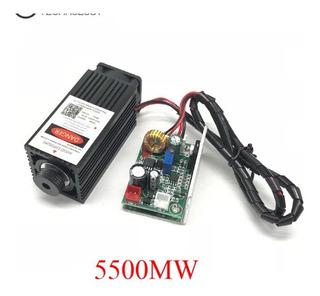 Cabezal Grabador Laser Corte Grabado 5500mw / 5.5w. -450nm
