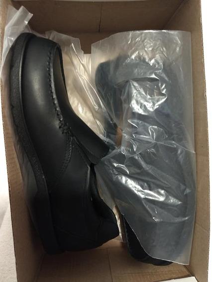 Zapato Cavatini Cuero Vacuno Escolar Hombre Num 38 Negro