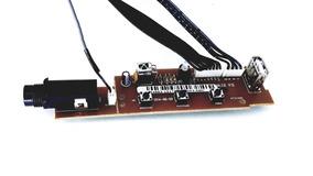 Placa Frontal Do Microfone Toshiba Sd5093cj Original