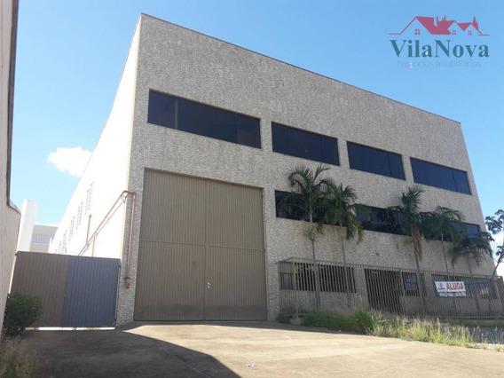 Galpão Para Alugar, 1615 M² Por R$ 25.000/mês - Centro Empresarial De Indaiatuba - Indaiatuba/sp - Ga0006