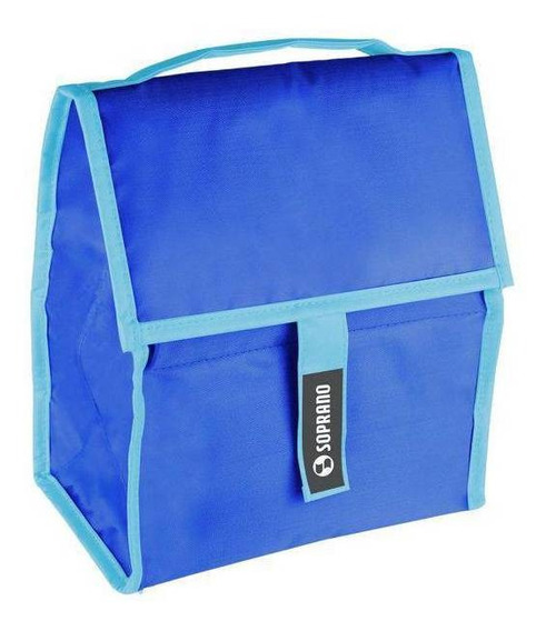 Cooler Soprano Com Gel Azul 5l