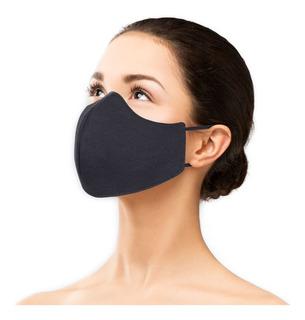 Máscara Proteção Reutilizável Dupla Camada Lavável Kit 5 Pçs
