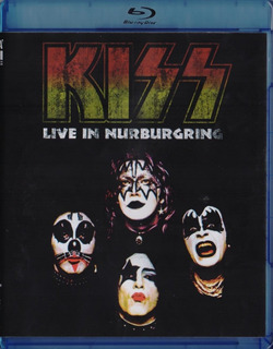 Kiss Live In Nurburgring Concierto Blu-ray