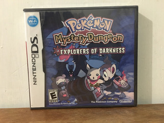 Pokemon Mystery Dungeon Explorers Of Darkness Nintendo Nuevo