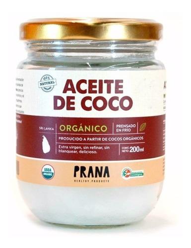 Aceite De Coco Orgánico, Comestible, Cabello Y Piel 200 Ml