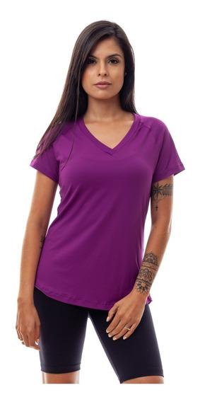 Kit 2 Blusas Dry Fit Roupa Feminina 100% Poliamida Fitness